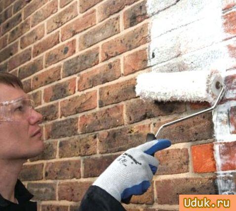 чем покрасить кирпич на улице